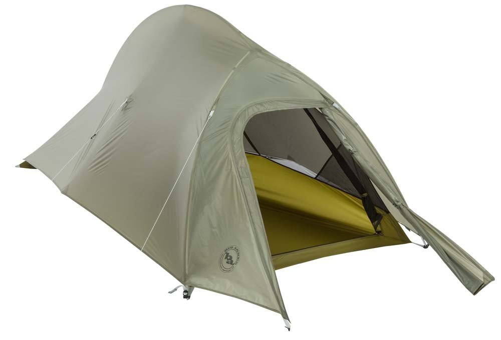 Covered With Door - Big Agnes Seedhouse SL1 Tent