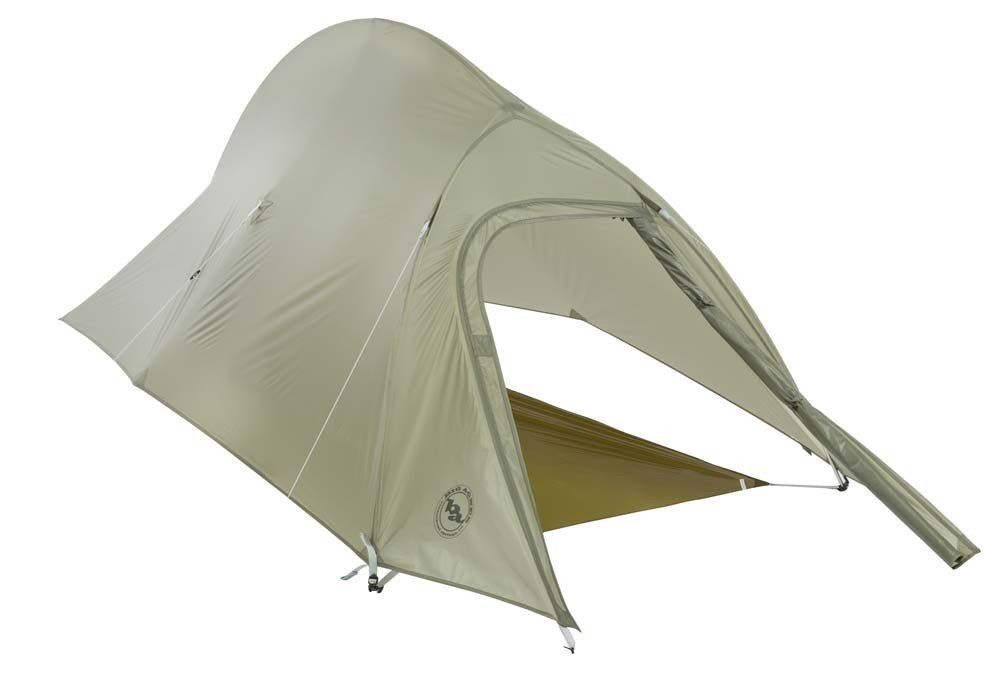 Covered Footprint - Big Agnes Seedhouse SL1 Tent