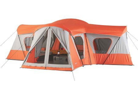 The Ozark Base C& is available in both a Blue/Tan combination as well as a striking Orange/Gray combination.  sc 1 st  Smart C&ing Tent Reviews : ozark trail tents 10 person - memphite.com