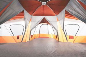The Ozark Base C& is available in both a Blue/Tan combination as well as a striking Orange/Gray combination. & Ozark Trail Tents Reviews and 2018 Comparisons | Smart Camping ...