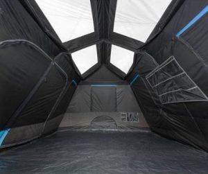 Ozark Trail Dark Rest Instant Cabin Tent Interior