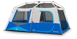 Columbia Sportswear Fall River 10 Person Instant Dome Tent - Best Beach Tent for Camping