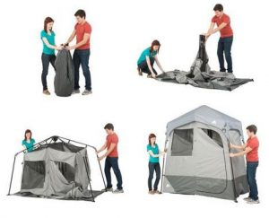 Ozark Trail Instant Camping Shower Tent Popup